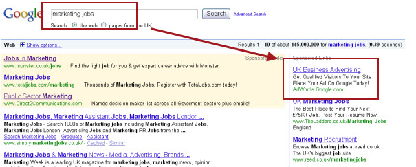 google makes error in PPC broad matching