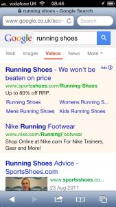 Google Mobile Listing